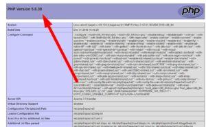 Как узнать версию PHP на сайте